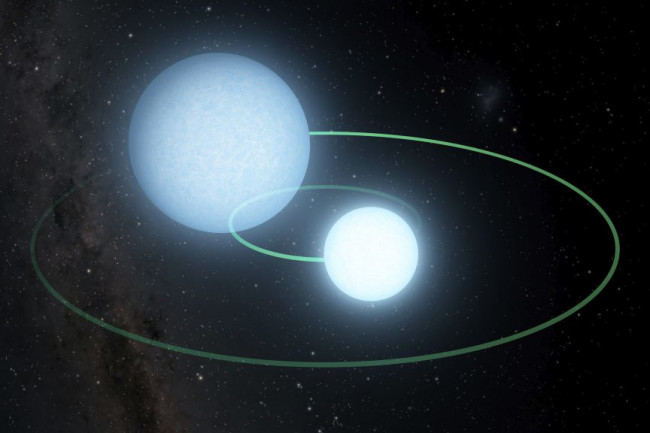 White Dwarfs Orbiting - Caltech