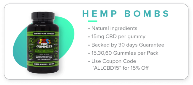 Hemp Bombs CBD gummies image