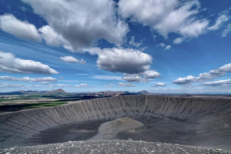 Upstairs-Downstairs: Images of Iceland, From the Ground and From Space
