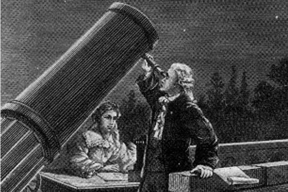 William Herschel and Caroline Herschel