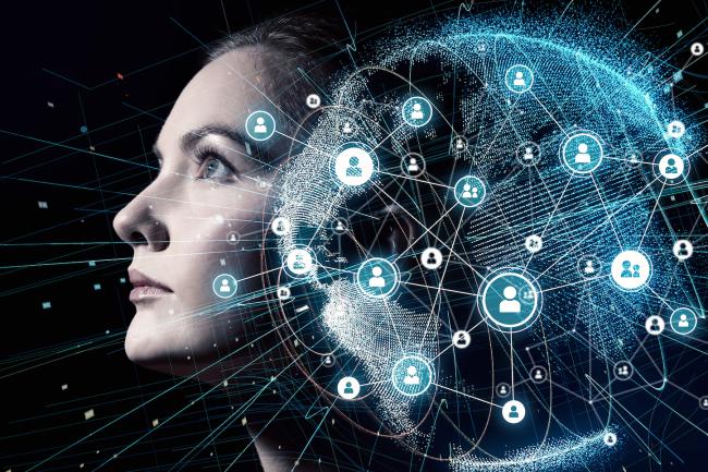 Computer Simulation Life AI Matrix - Shutterstock
