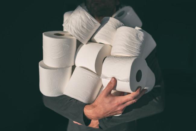 covid - coronavirus - toilet paper - shutterstock
