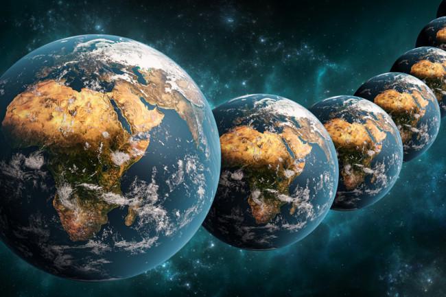 multiverse parallel universe concept - shutterstock