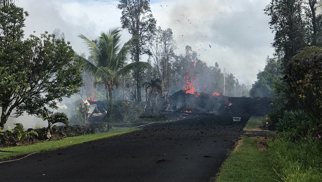 Fissure 3 Erupting - USGS