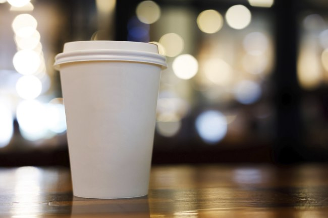 Paper Coffee Cup - Shutterstock