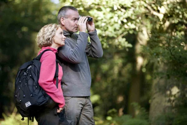 birdwatching creep couple - shutterstock