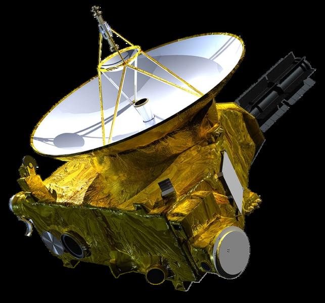 643px-New Horizons spacecraft model 1