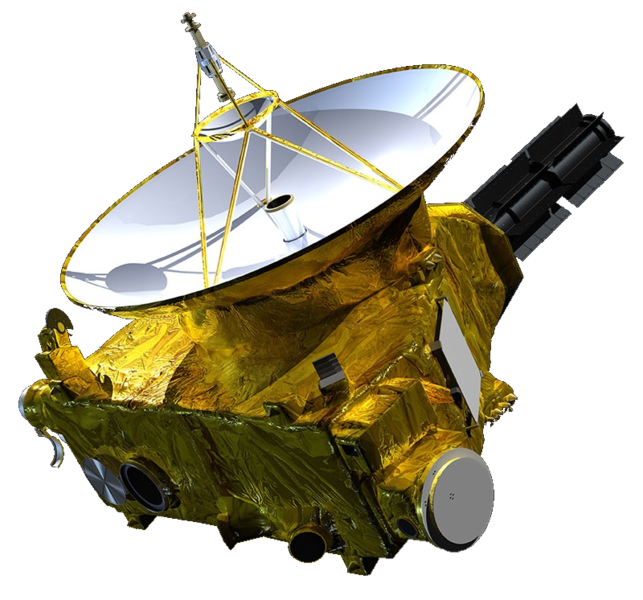 643px-New Horizons spacecraft model 1