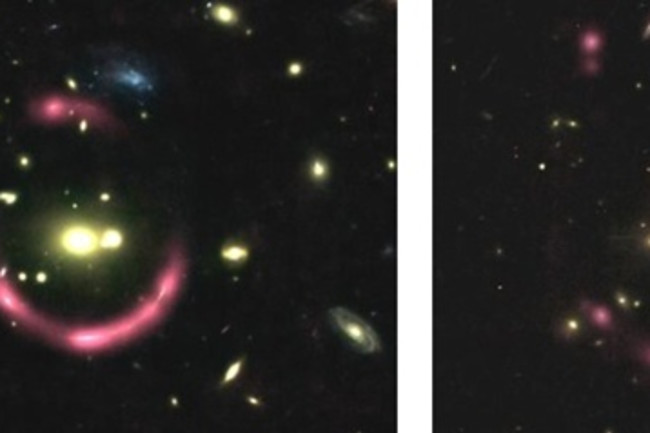 Gravitationally Lensed Galaxies - Hubble/NASA