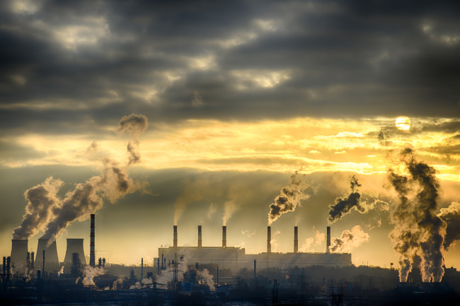 Emissions Greenhouse Gases Pollution - Shutterstock