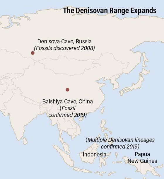Denisovan Range Map - Jay Smith