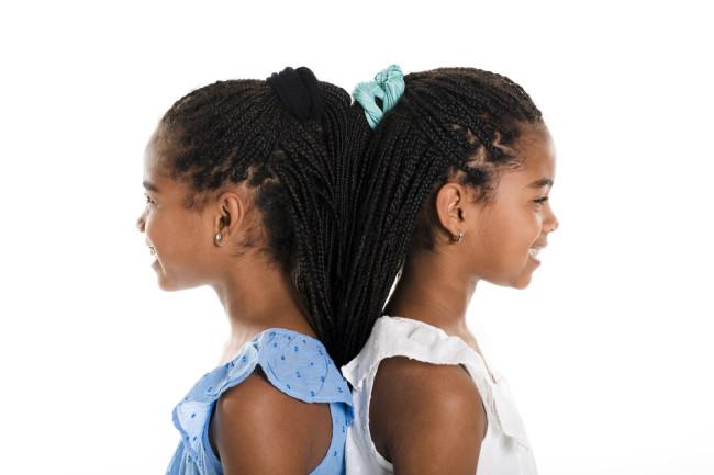 Twin sisters - shutterstock