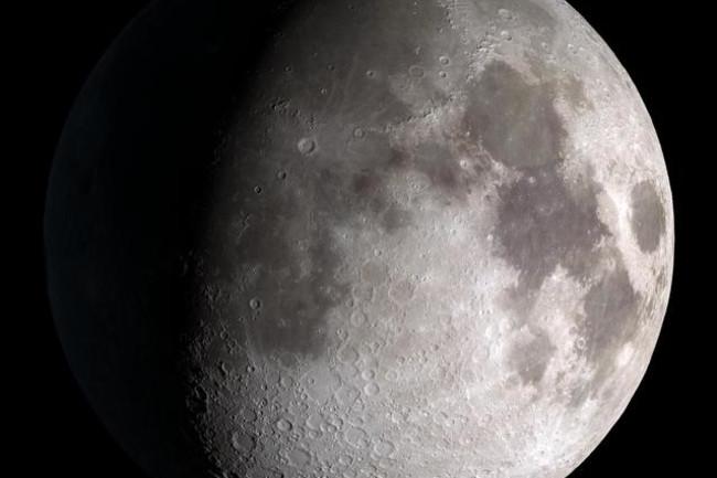 Moon materials rocket fuel