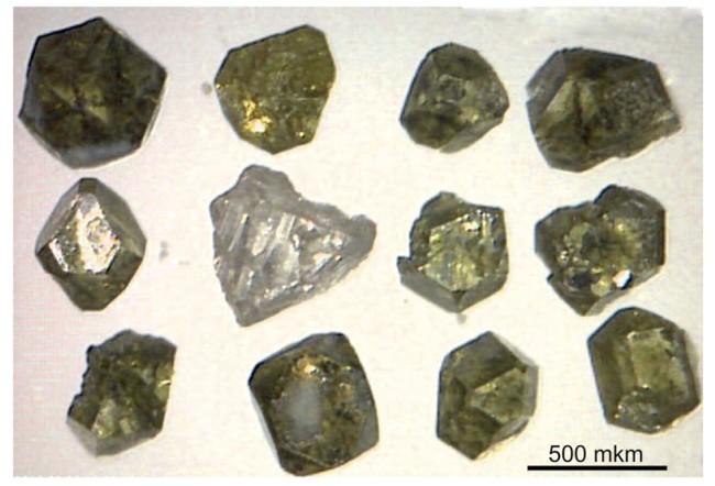 Diamonds from Tolbachik - Am Mineralologist