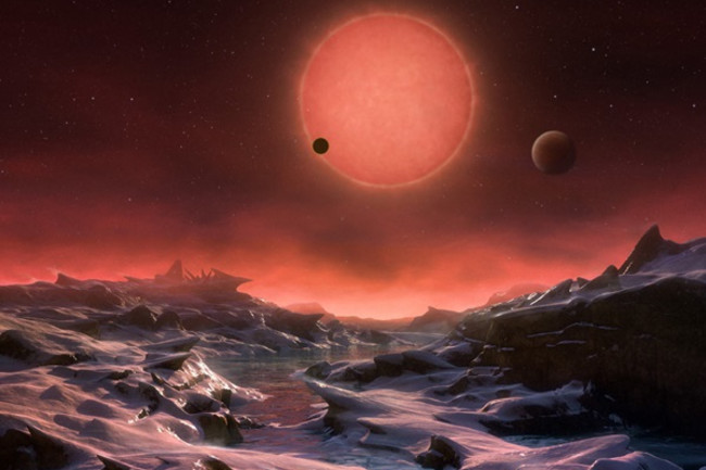 TRAPPIST-1 Exoplanet - ESO