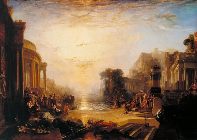 1024px-Joseph Mallord William Turner - The Decline of the Carthaginian Empire - WGA23169 - wikimedia commons