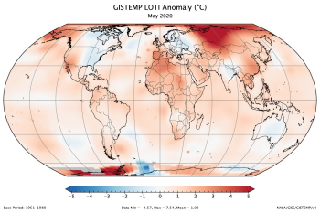 NASA: Last Month Was Earth's Warmest May on Record