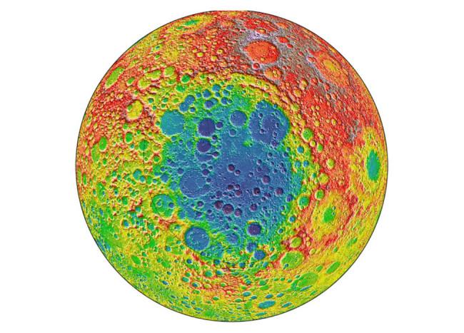Lunar South Pole Aitken Basin - NASA