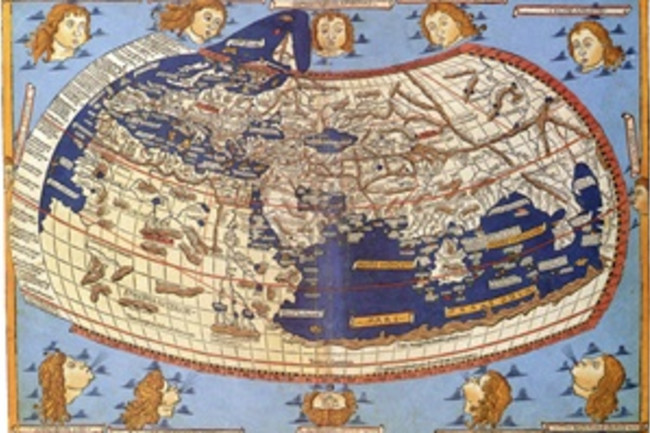 1482 world map - Library of Congress