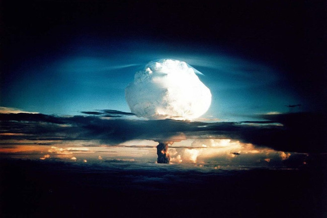 Ivy Mike hydrogen bomb test