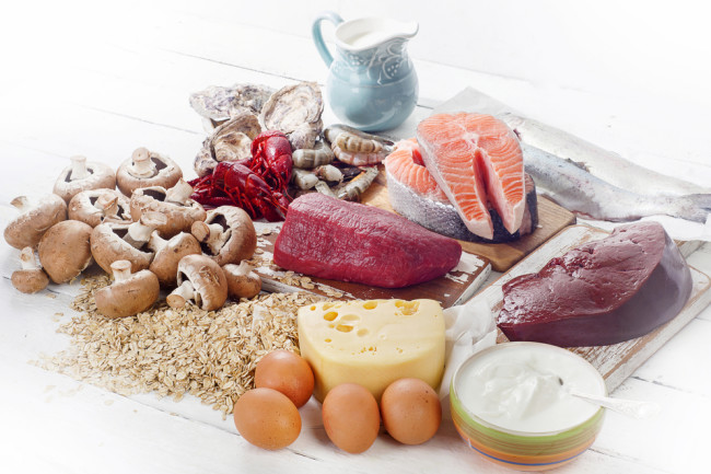 Vitamin B12 foods - Shutterstock