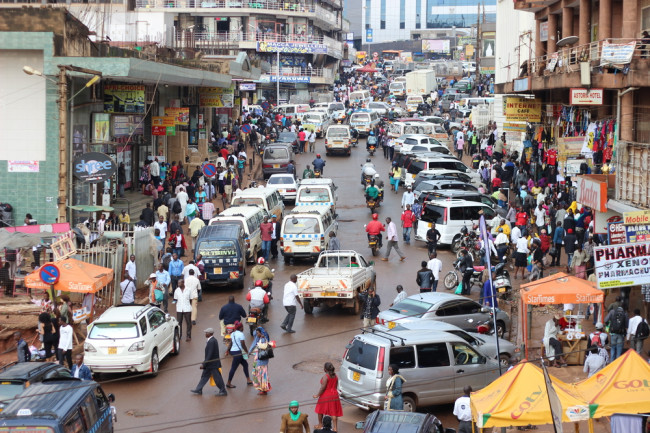 African City Urban Street Uganda - Shutterstock