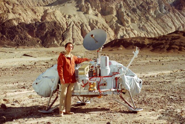 mars viking lander carl sagan