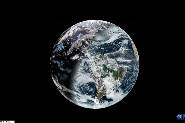 2019 Solstice From Space