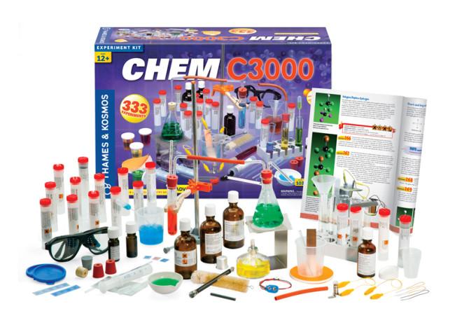 chemistry set - Thames & Kosmos