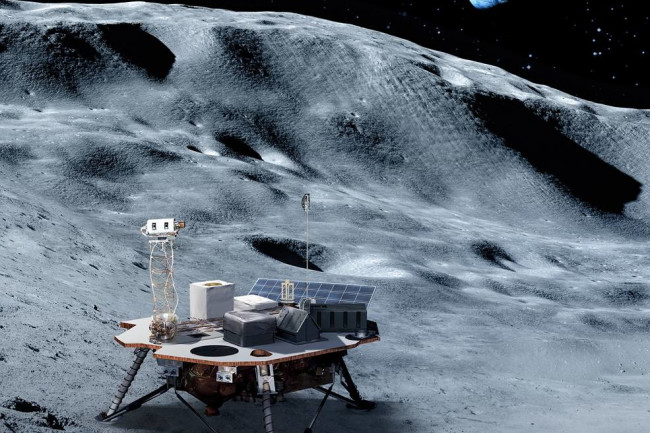 Lunar Lander Future Art - NASA