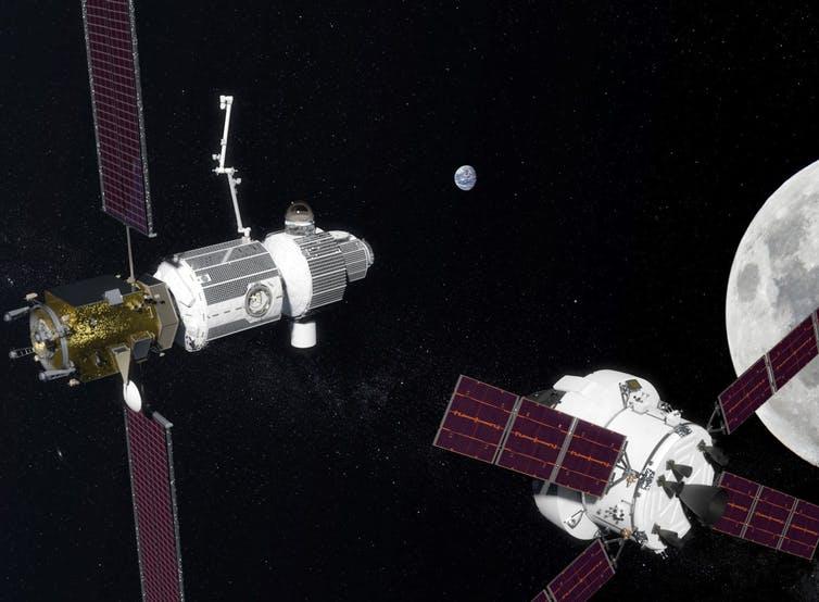 NASA Orion Deep Space Gateway