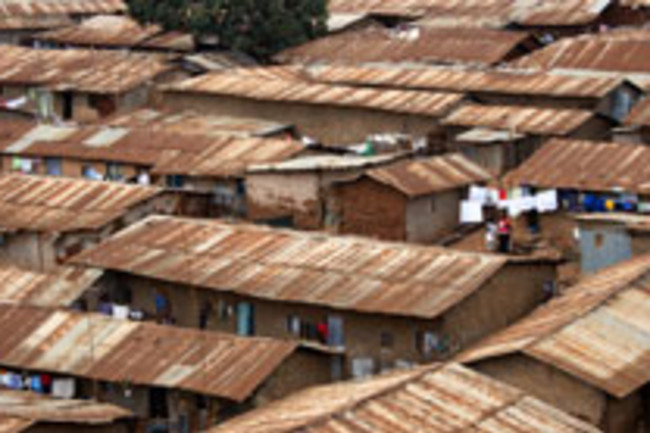 African city rooftops