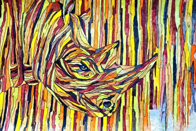 Rhino Art - Boldderay/Dreamstime
