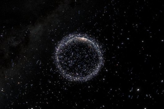 Space Debris large