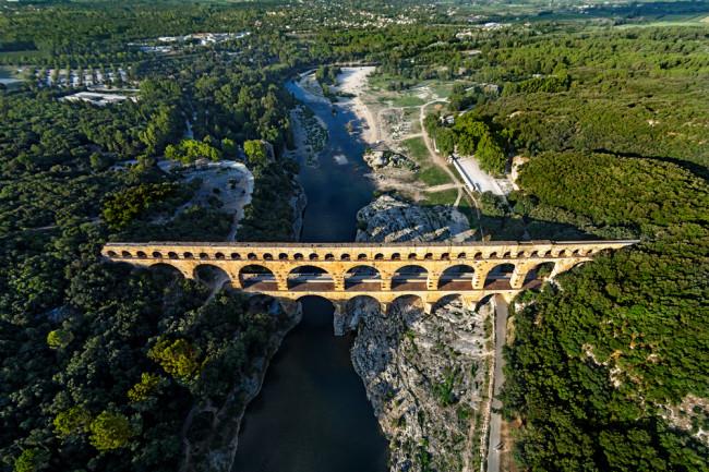 Roman aquaduct - shutterstock