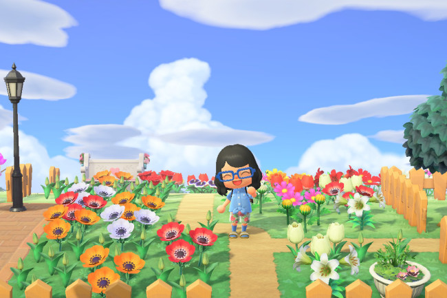 Animal Crossing flowers 2