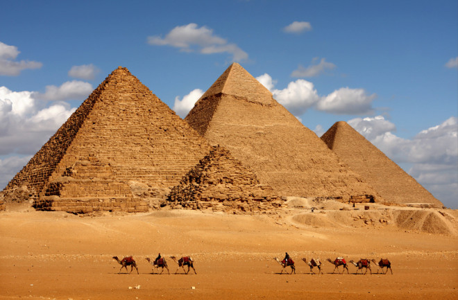 In pyramids egypt of names Just for