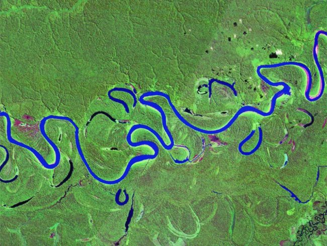 Brazil, Juruá River - NASA