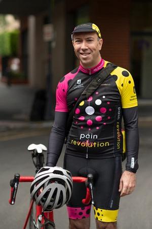 Lorimer Moseley cyclist - Pete Thornton