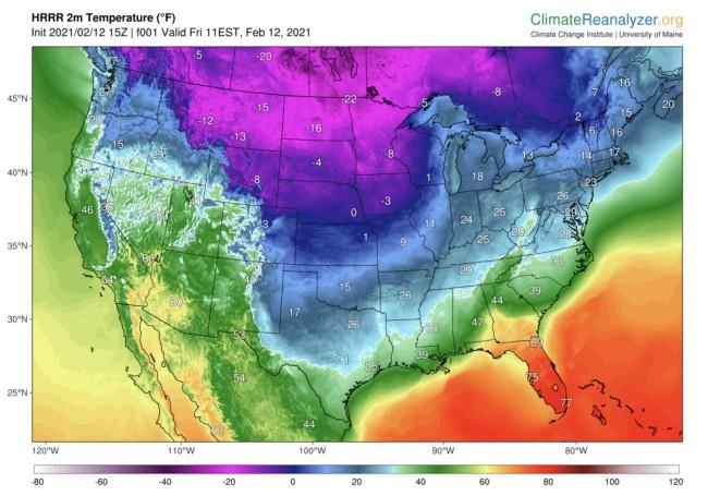Forecast Temperatures