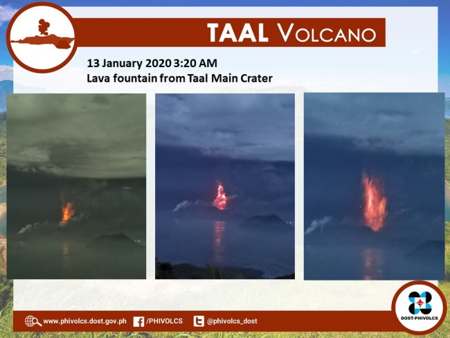 Taal Lava Fountain