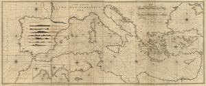 1797 portolan chart - Library of Congress