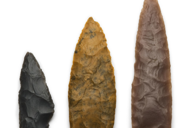 fluted spear points
