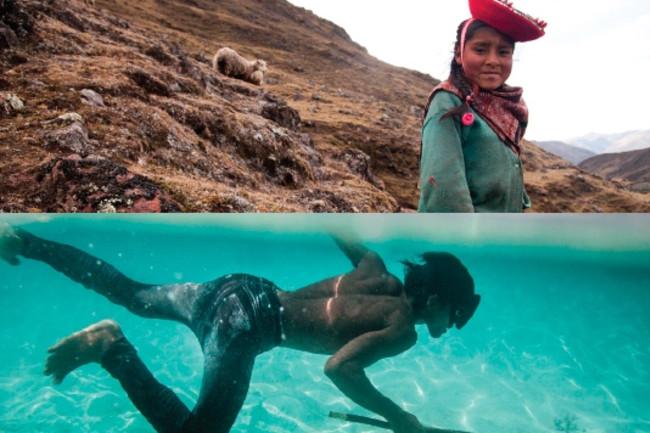 Mountain Ocean Human Adaptations - Nat Geo