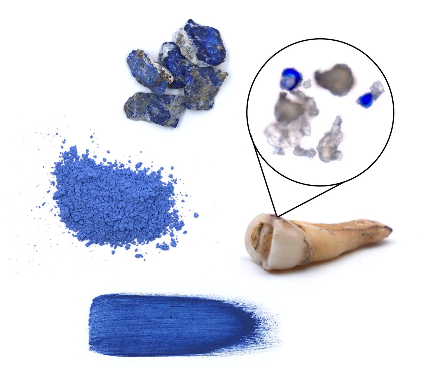 Lazurite Pigment Molar