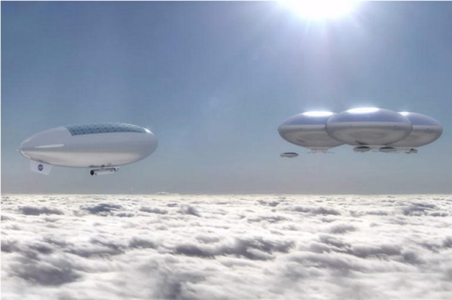 nasa venus cloud city