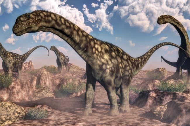 Argentinosaurus - dinosaur - shutterstock