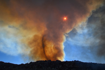 Western Wildfires Are Spinning Off Tornadoes — Here's How Fires Create Their Own Freakish Weather