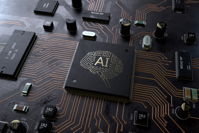 AI Artificial Intelligence Computer Chip Motherboard - Shutterstock