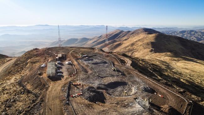 DSC-FT1119 08 construction Giant Magellan Telescope Las Campanas Observatory